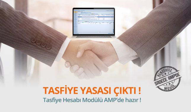 Tasfiye hesabı nasıl yapılır? Hangi raporlar hazırlanmalıdır? AMP'de